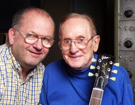 Rusty Lester Paul Jr and Les Paul
