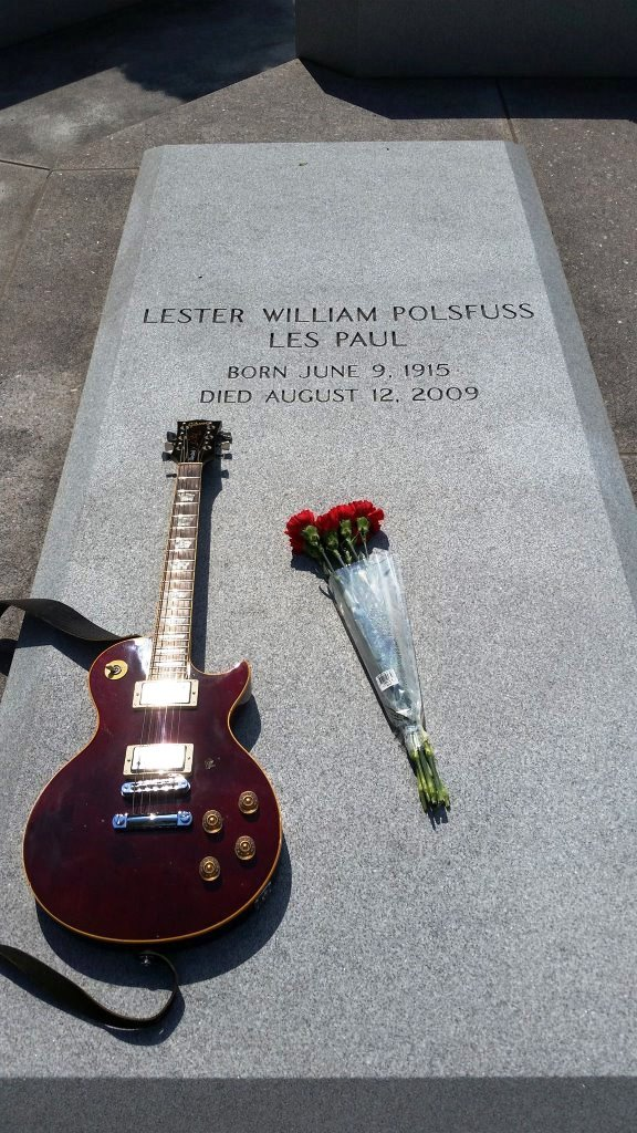 101st Birthday at Les Paul Monument